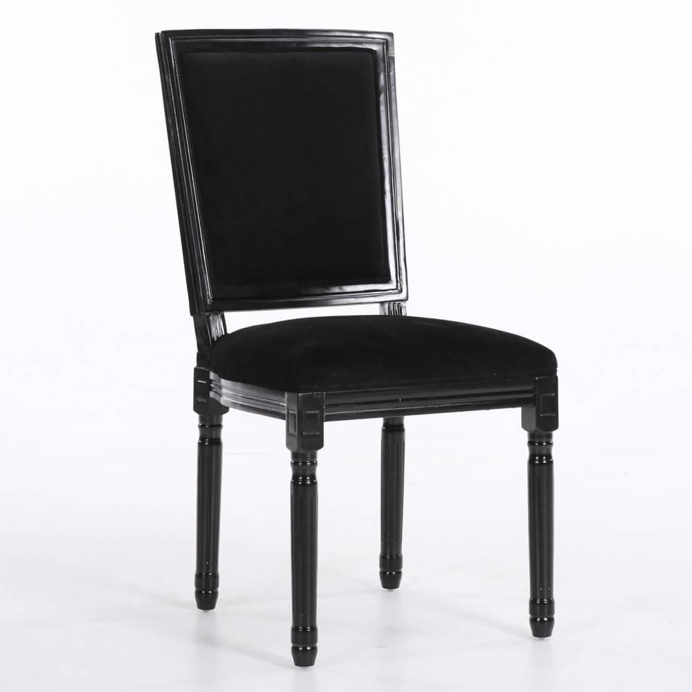 chaise design ergonomique et stylis e au meilleur prix chaise design rustique clovis velours. Black Bedroom Furniture Sets. Home Design Ideas