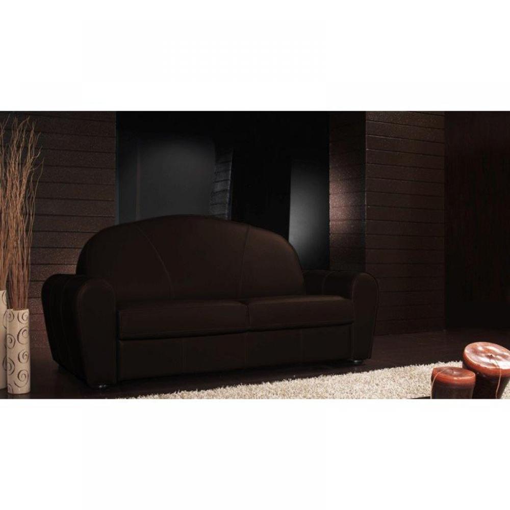 Canapé droit 3 places Tissu Luxe Confort