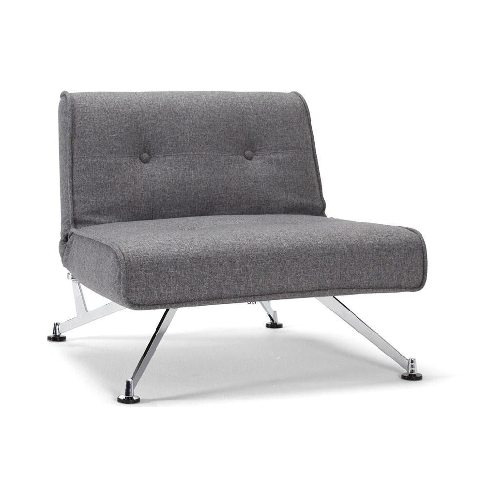fauteuils et poufs canap s et convertibles innovation living fauteuil lit design clubber gris. Black Bedroom Furniture Sets. Home Design Ideas