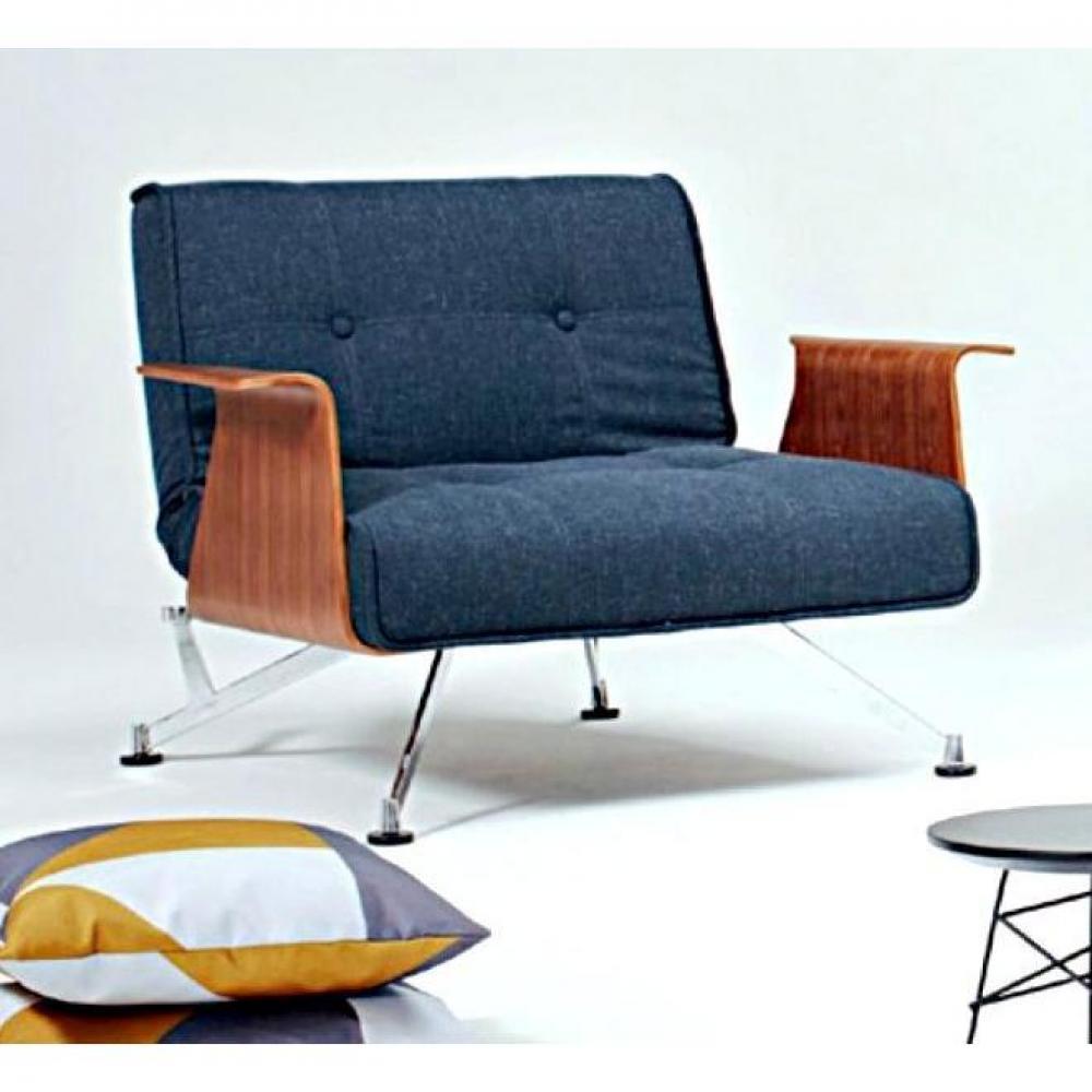 fauteuils convertibles convertibles innovation fauteuil design clubber bleu nist avec. Black Bedroom Furniture Sets. Home Design Ideas