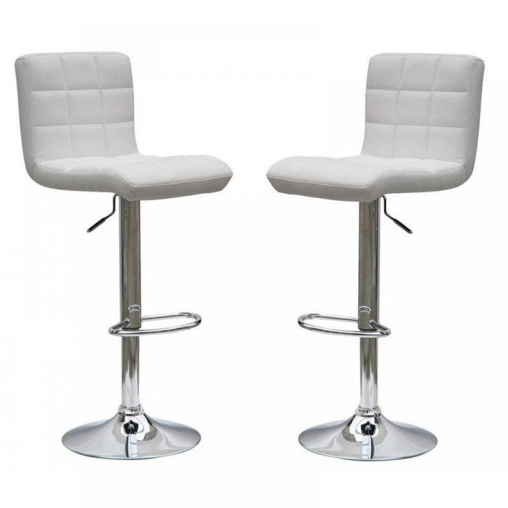 chaises de bar meubles et rangements lot de 2 tabourets chaise de bar coco relevable rotatif. Black Bedroom Furniture Sets. Home Design Ideas