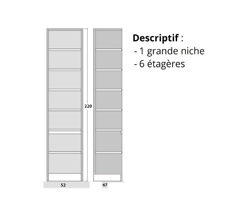 Canap s rapido convertibles design armoires lit escamotables et dressing paris space sofa - Armoire 50 cm profondeur ...