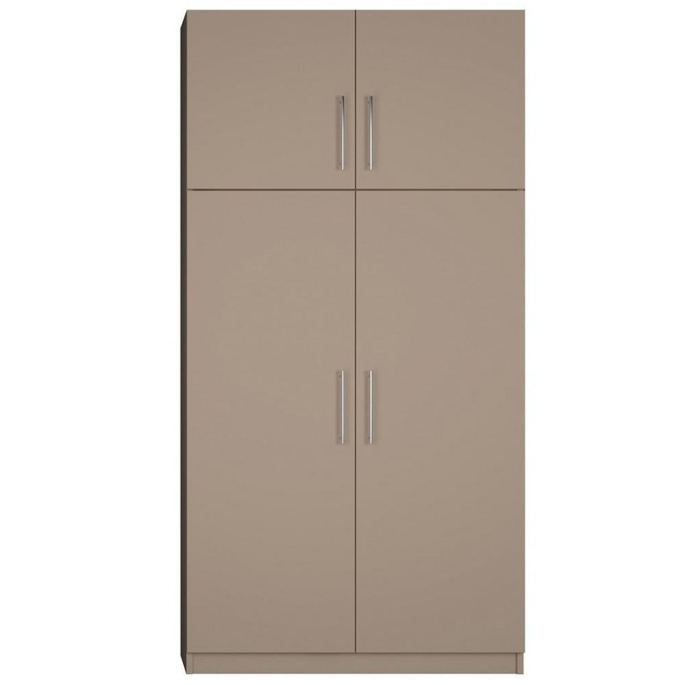 Colonne de rangement, meubles et rangements, Armoire de rangement lingère 4 portes largeur 100 ...