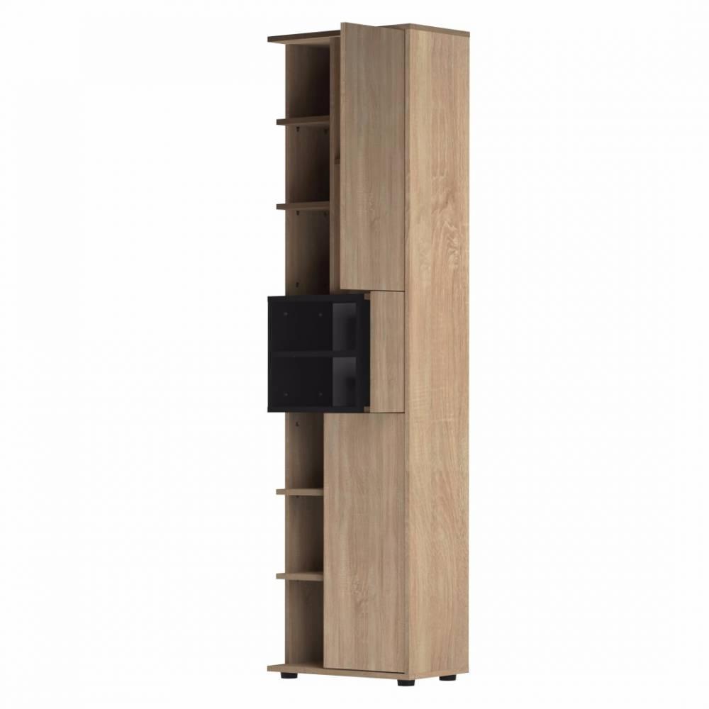Meubles salle de bain meubles et rangements colonne for Porte meuble salle de bain chene