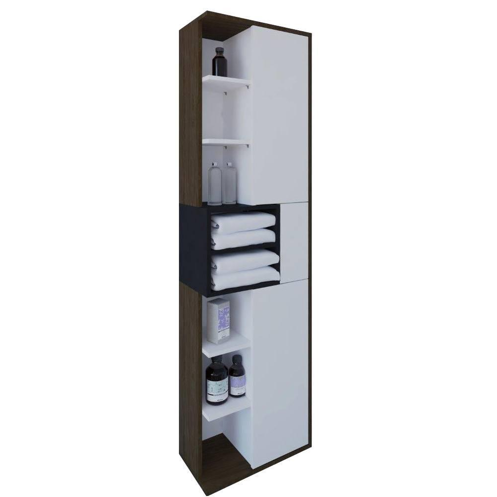 meubles tv meubles et rangements meuble tv dainn design scandinave 1 porte 2 abattants noyer. Black Bedroom Furniture Sets. Home Design Ideas