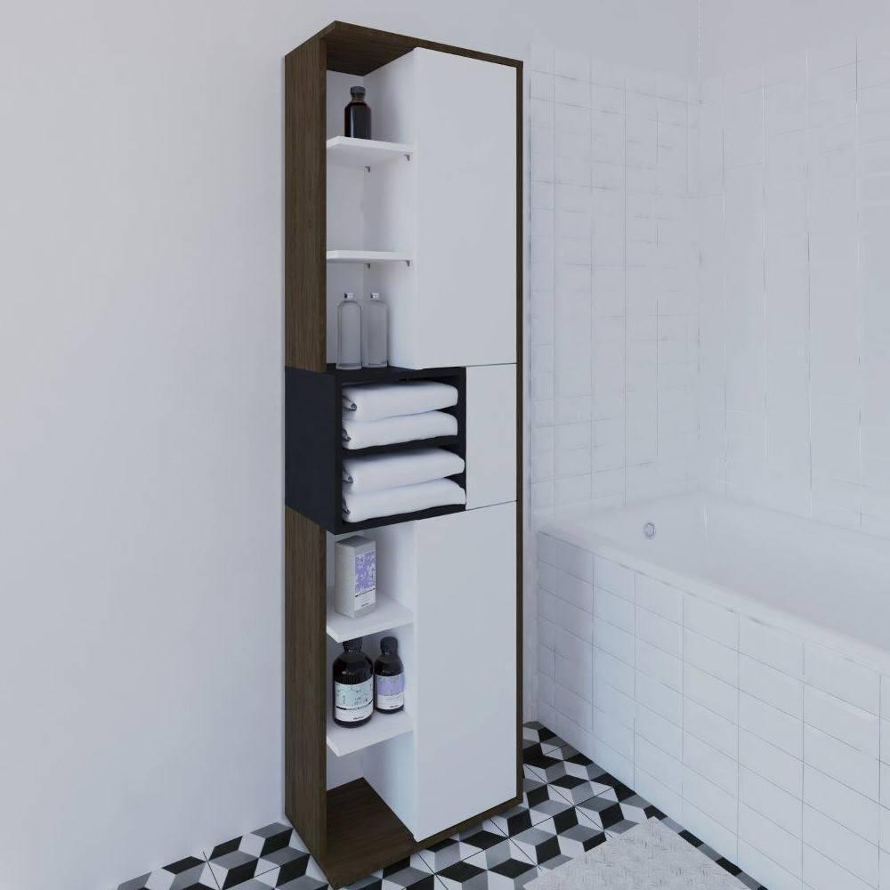 Colonne 2 portes salle de bain colonne de salle de bain for Colonne 2 portes salle de bain