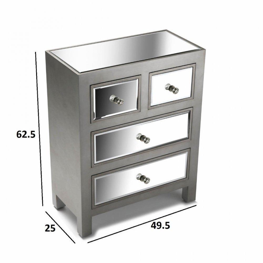 commodes  meubles et rangements  commode 4 tiroirs tower
