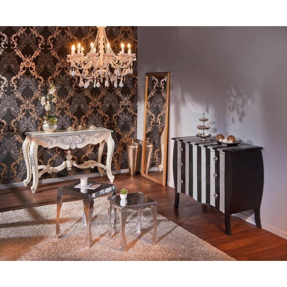 Commode Baroque A Rayures