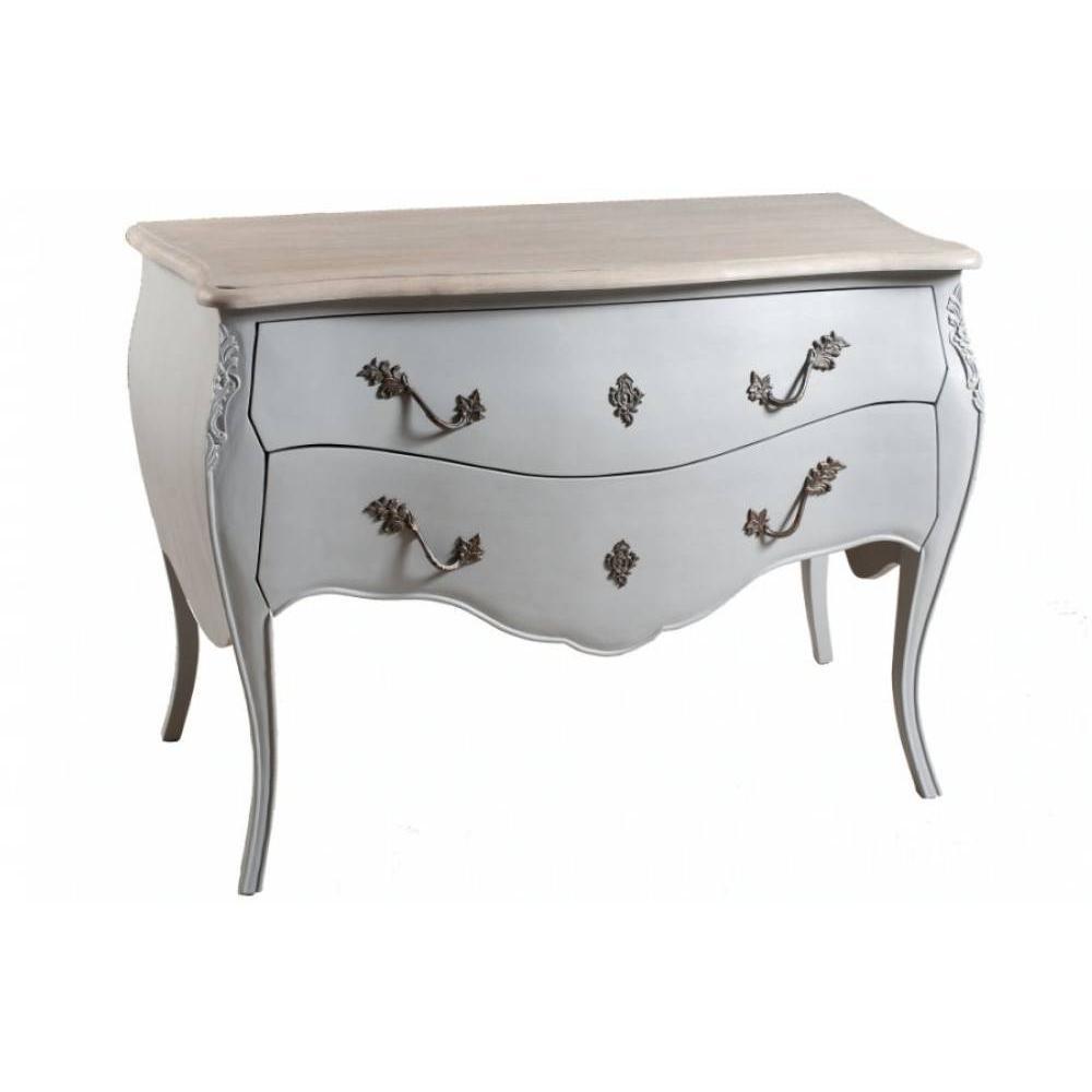 commodes meubles et rangements console baroque venise 2 tiroirs bleu ardoise en manguier. Black Bedroom Furniture Sets. Home Design Ideas