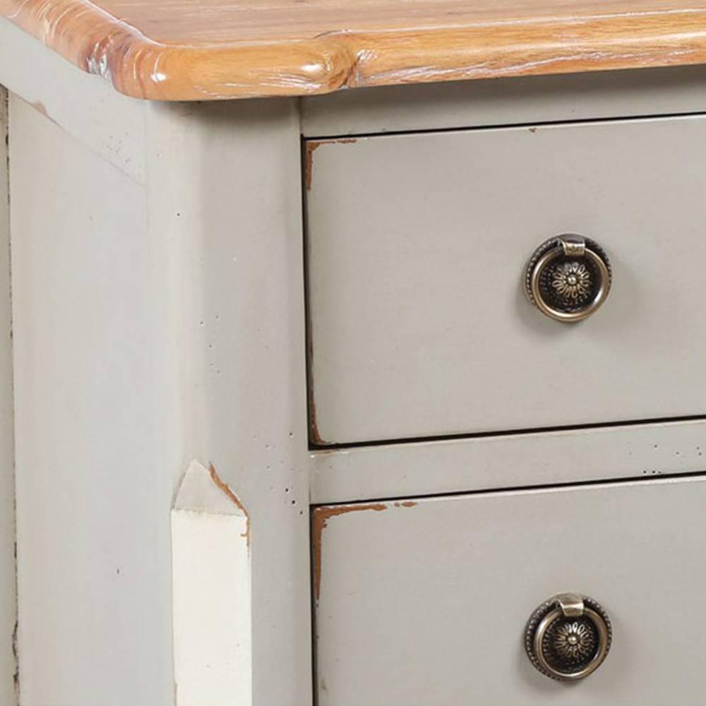 commodes meubles et rangements commode clodion grise et. Black Bedroom Furniture Sets. Home Design Ideas