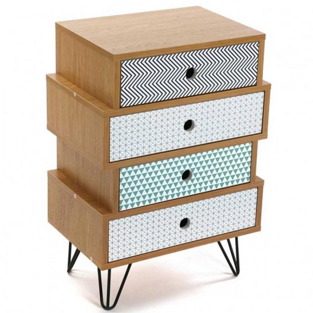 commodes meubles et rangements commode graphika imprime. Black Bedroom Furniture Sets. Home Design Ideas