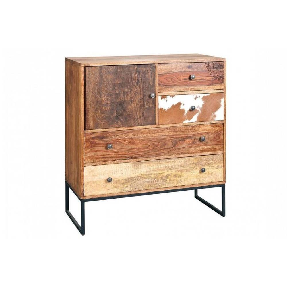 commode bois recycle maison design. Black Bedroom Furniture Sets. Home Design Ideas
