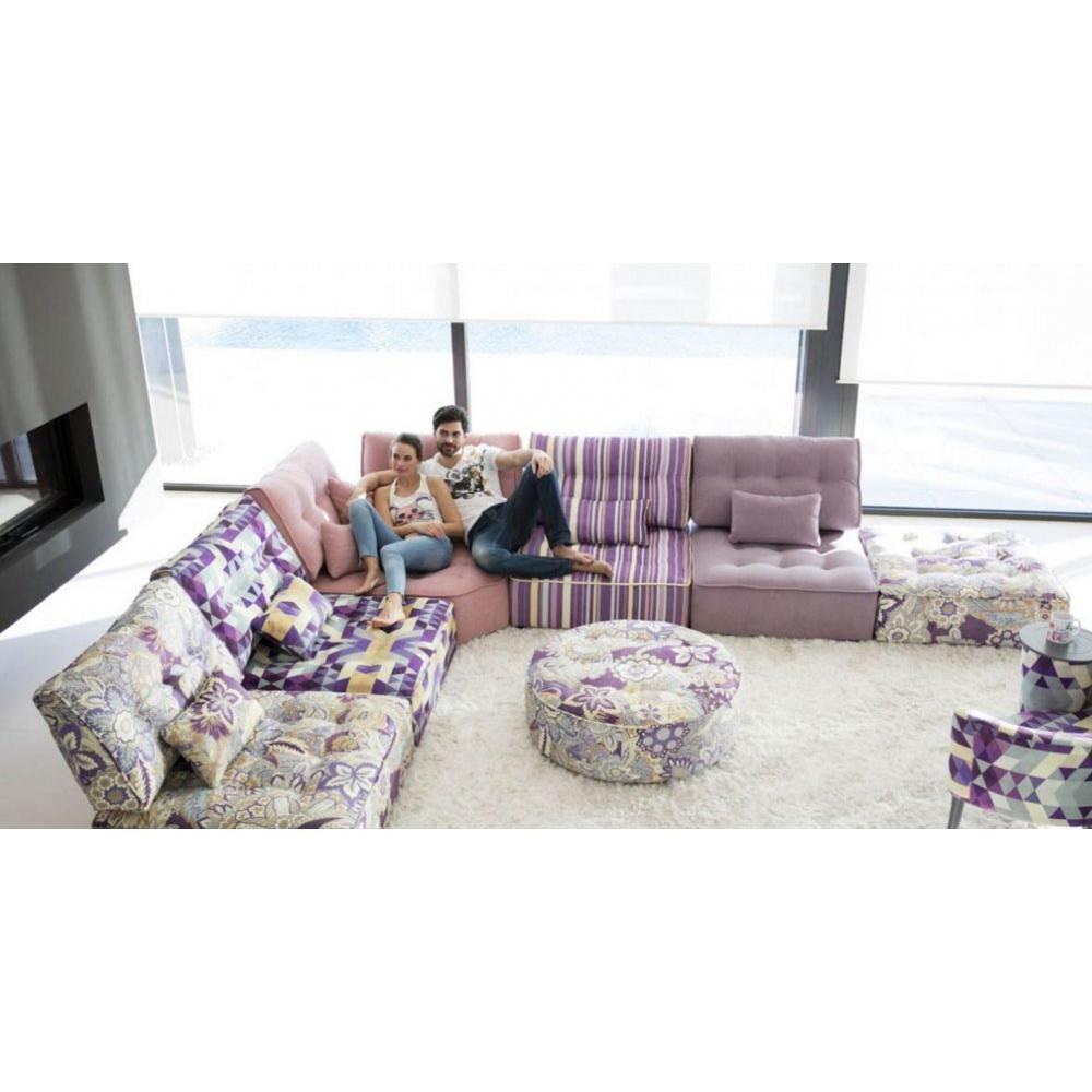 canap d 39 angle moderne et classique au meilleur prix fama composition canap modulable arianne. Black Bedroom Furniture Sets. Home Design Ideas