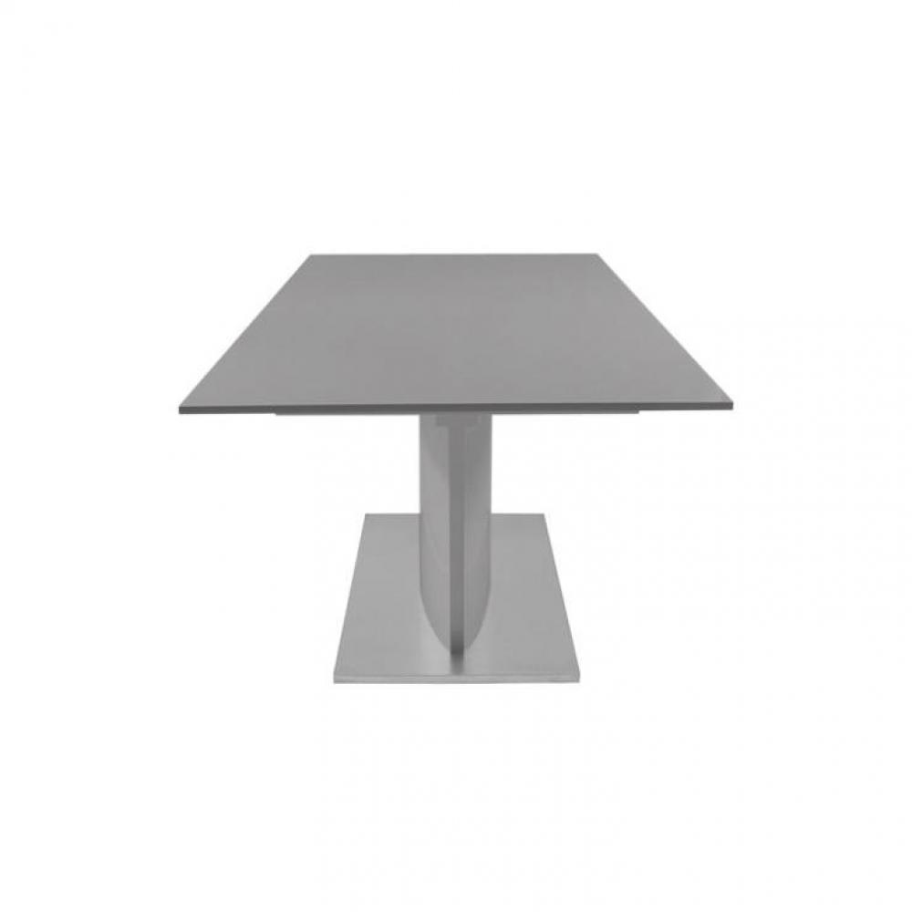 Table de repas design au meilleur prix table extensible - Table design extensible pied central ...