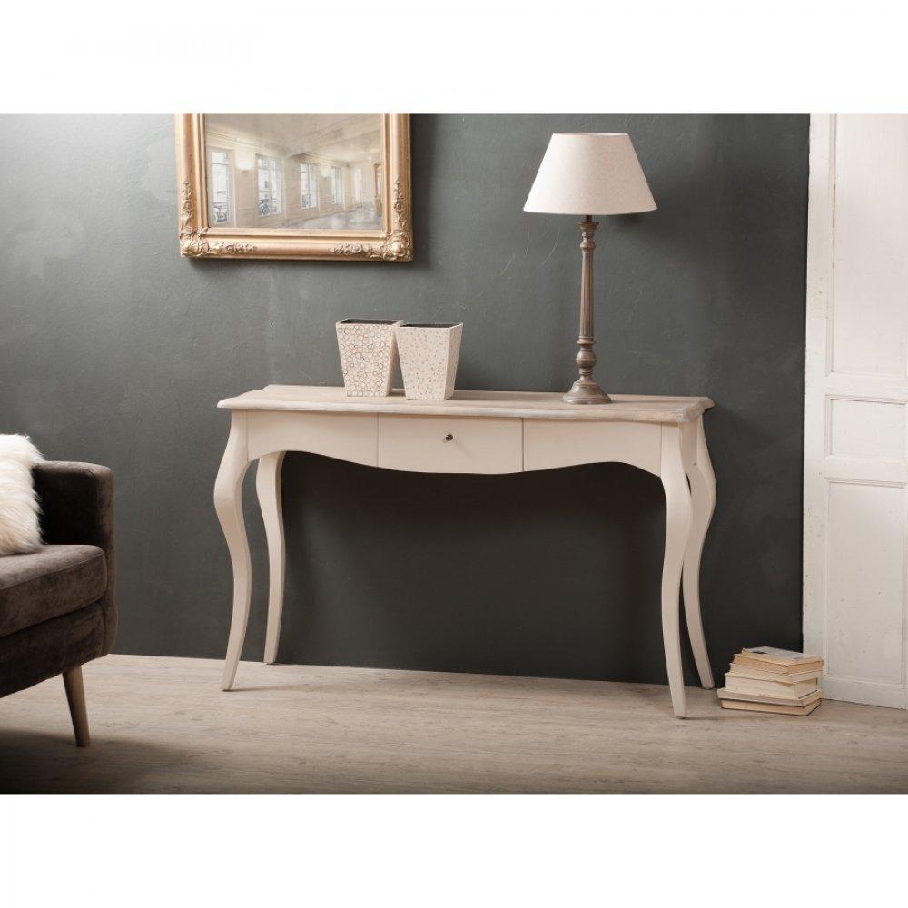 console design ultra tendance au meilleur prix console baroque 1 tiroir rio coloris argile en. Black Bedroom Furniture Sets. Home Design Ideas
