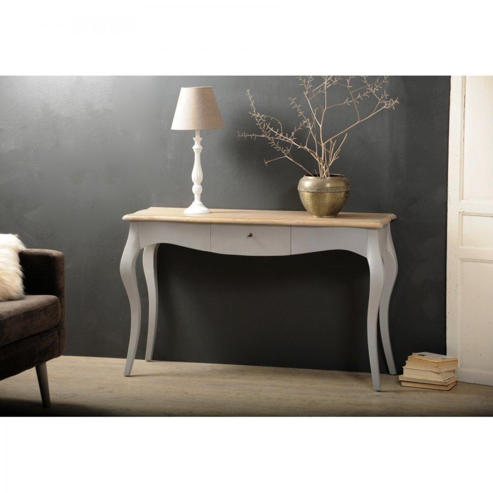 console design ultra tendance au meilleur prix console baroque 1 tiroir rio coloris bleu. Black Bedroom Furniture Sets. Home Design Ideas