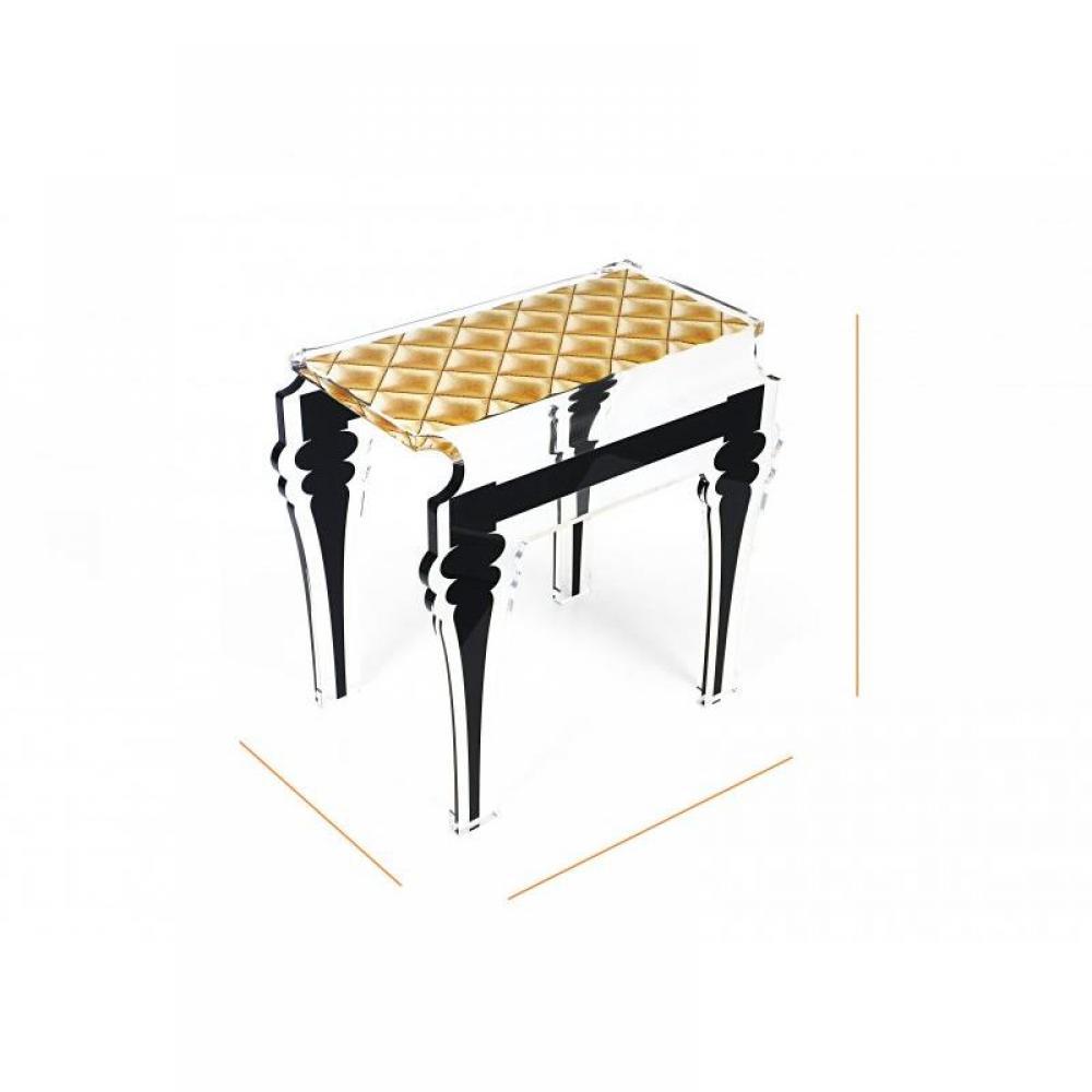 table de chevet plexiglas perfect table de repas grand modele granit rose et pietement. Black Bedroom Furniture Sets. Home Design Ideas