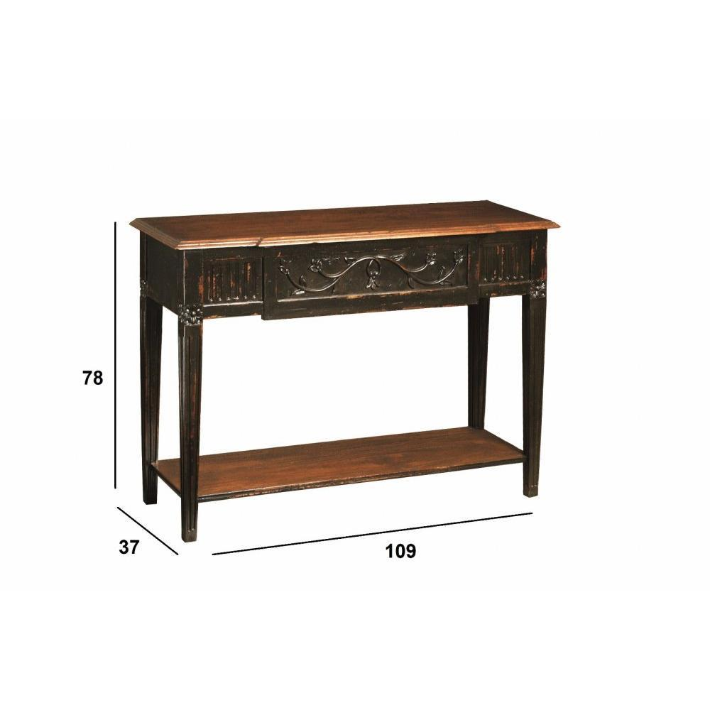 console design ultra tendance au meilleur prix console colbert de style directoire en bois. Black Bedroom Furniture Sets. Home Design Ideas