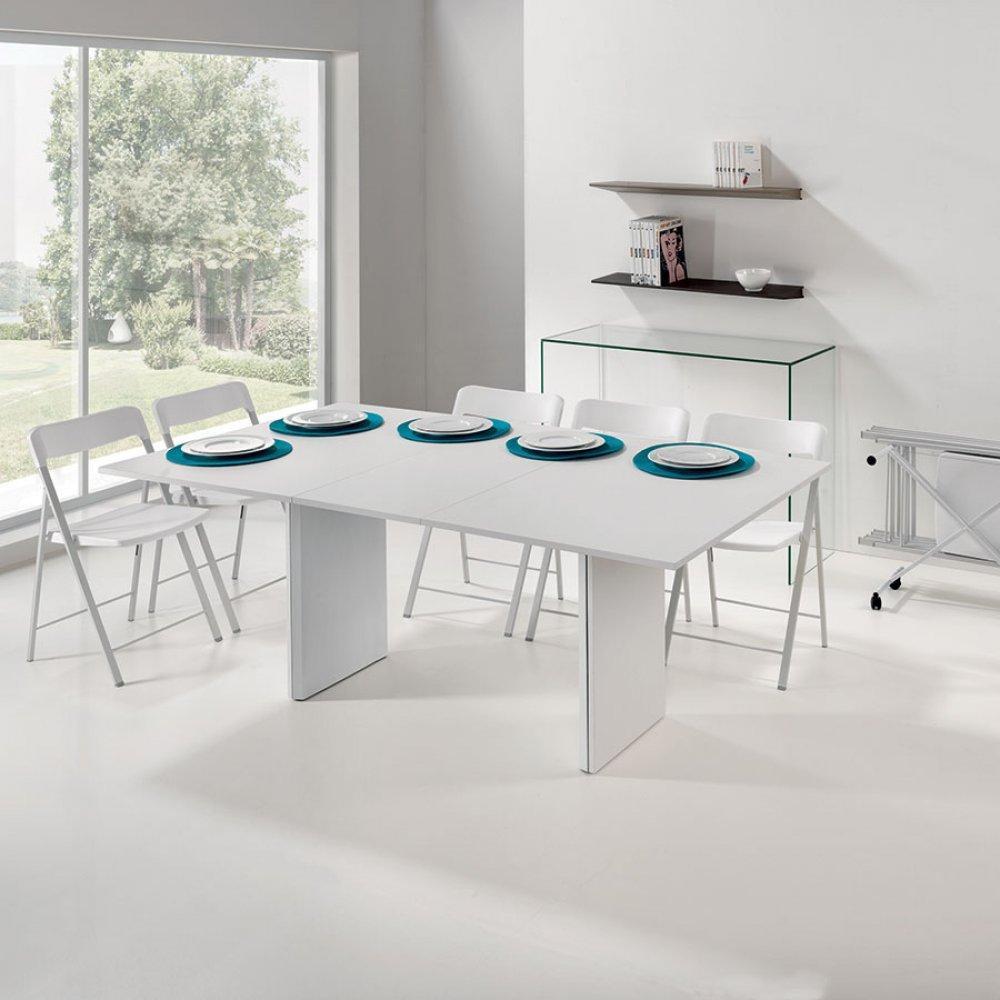 Console extensible le gain de place tendance au meilleur prix ensemble cons - Console extensible verre ...