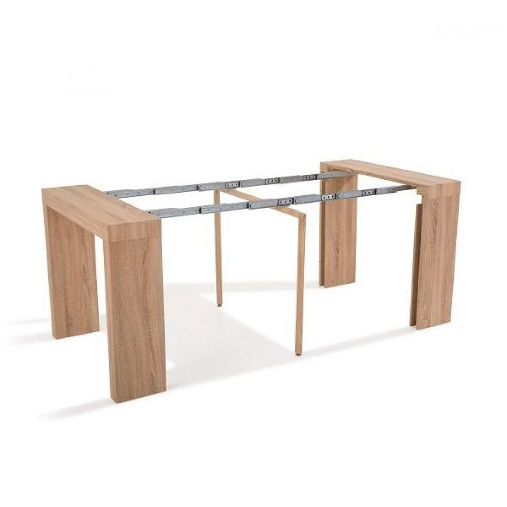 Console extensible le gain de place tendance au meilleur for Table console extensible chene
