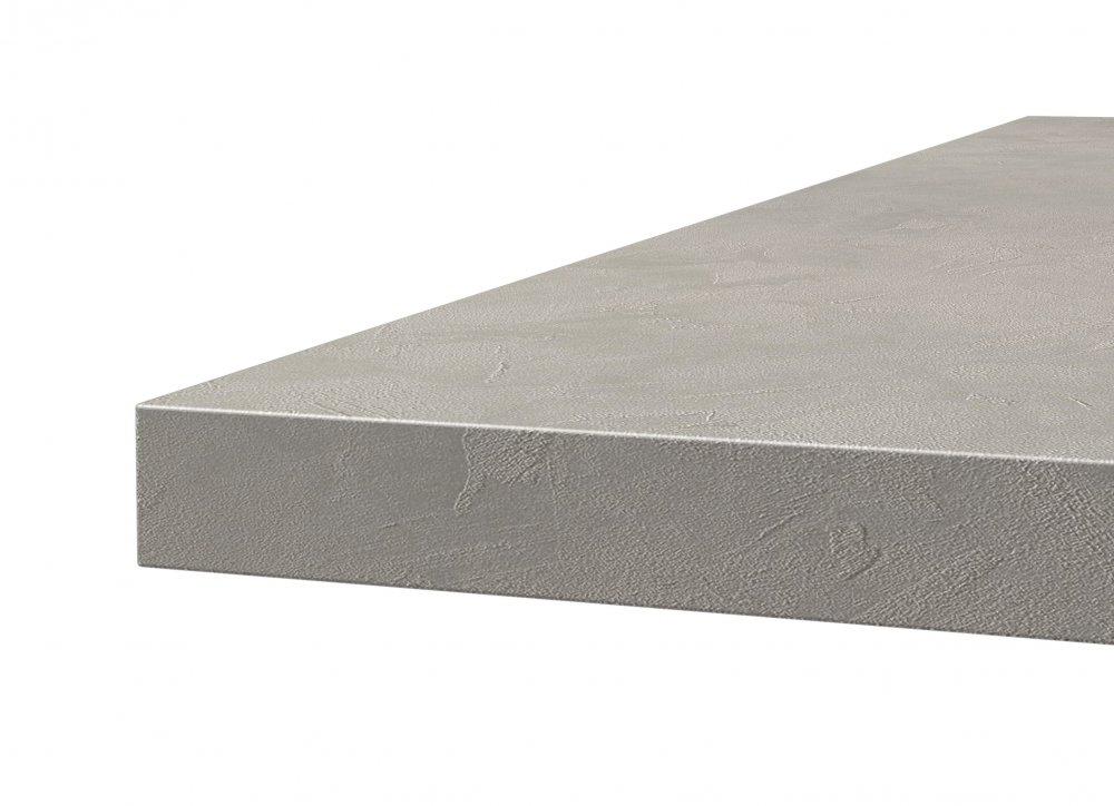 Table console extensible GRANDEZZA effet béton jusqu