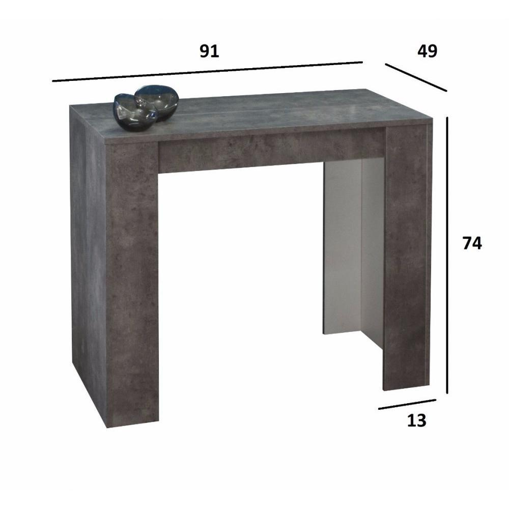 Console de table extensible maison design for Table extensible console