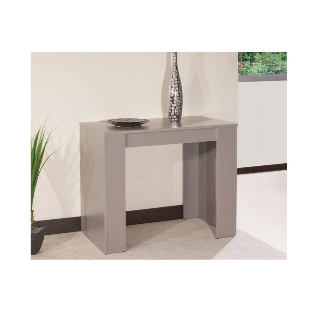 Console extensible le gain de place tendance au meilleur for Table console extensible rallonges incorporees