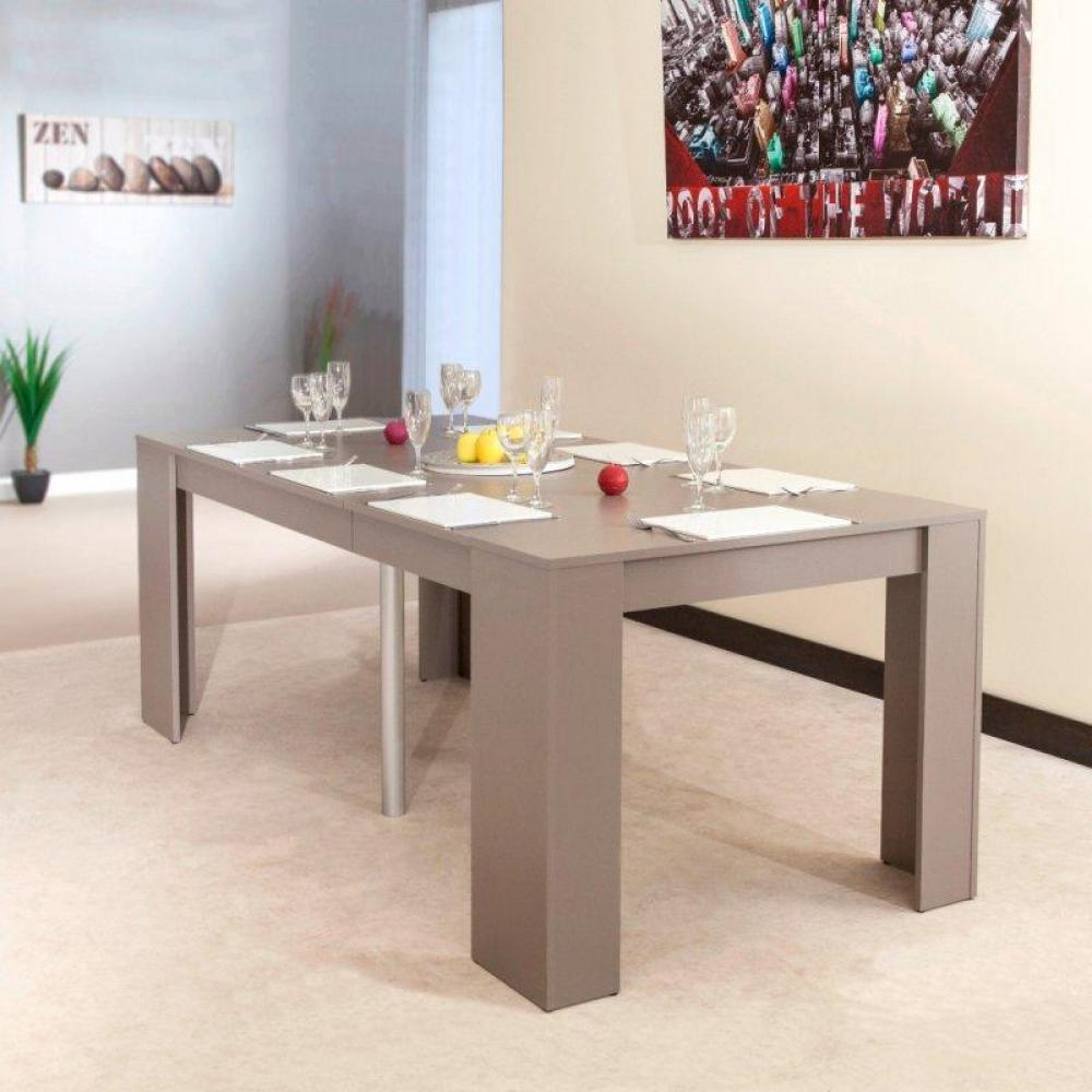 Canap s ouverture express convertibles canap s ouverture express au meille - Console extensible taupe ...