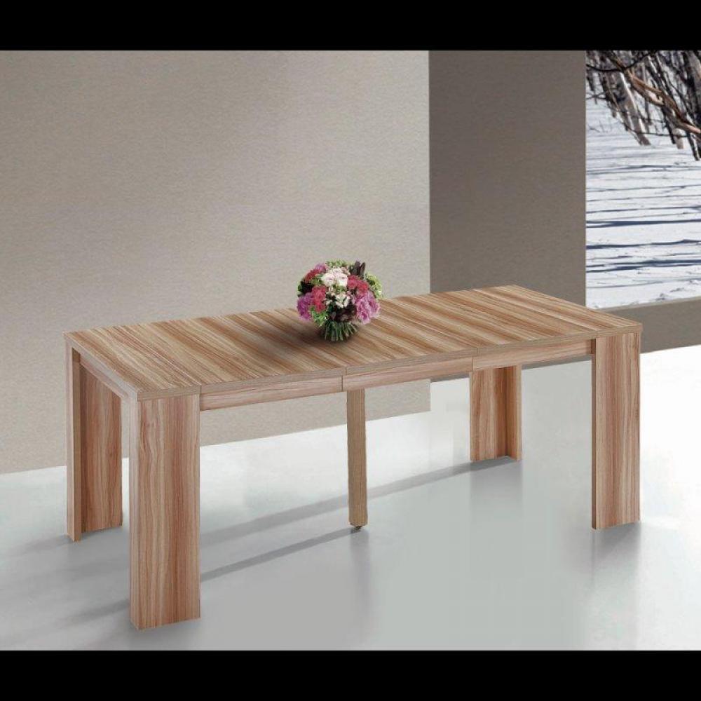 bureaux tables et chaises console extensible en table repas elasto ch ne inside75. Black Bedroom Furniture Sets. Home Design Ideas