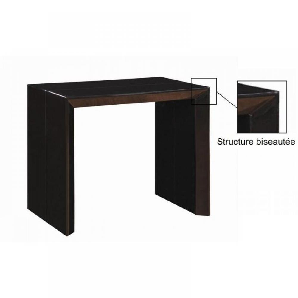 consoles extensibles meubles et rangements console extensible en table repas extenso deluxe. Black Bedroom Furniture Sets. Home Design Ideas
