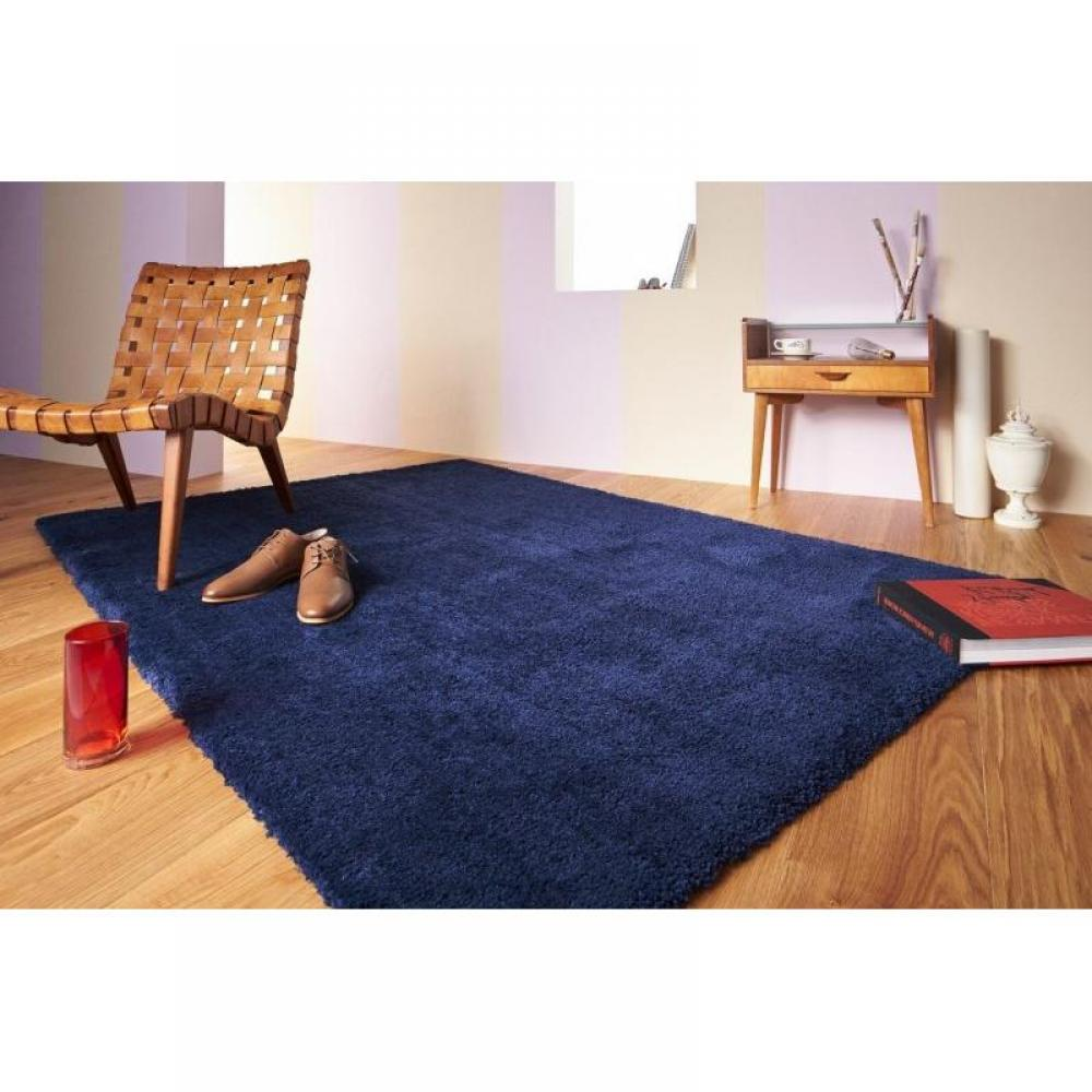 CONTZENCOLOURS Tapis bleu indigo 170x240 cm