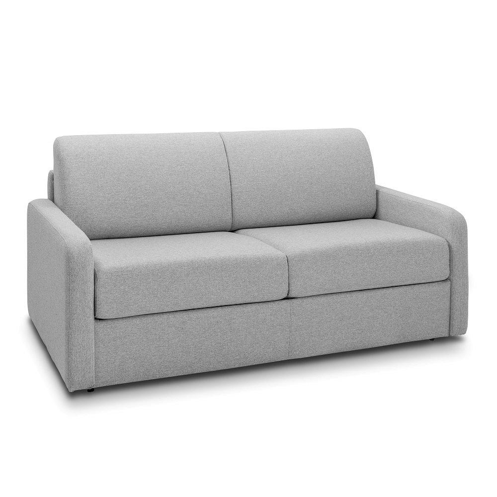 Canapé droit 4 places Tissu Confort