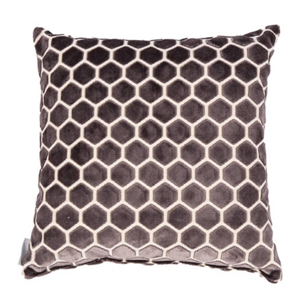 Coussin ZUIVER MONTY gris fonce