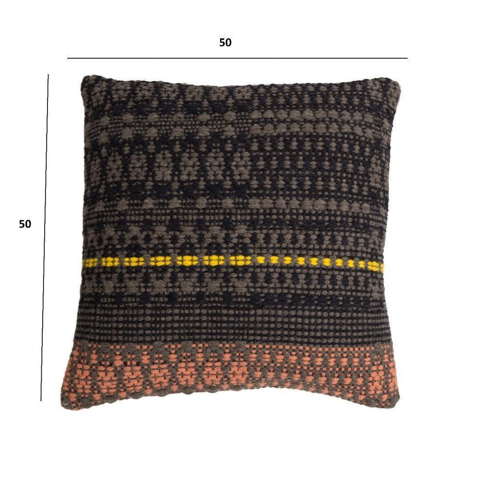 coussins carr s design au meilleur prix zuiver coussin salmon design scandinave inside75. Black Bedroom Furniture Sets. Home Design Ideas