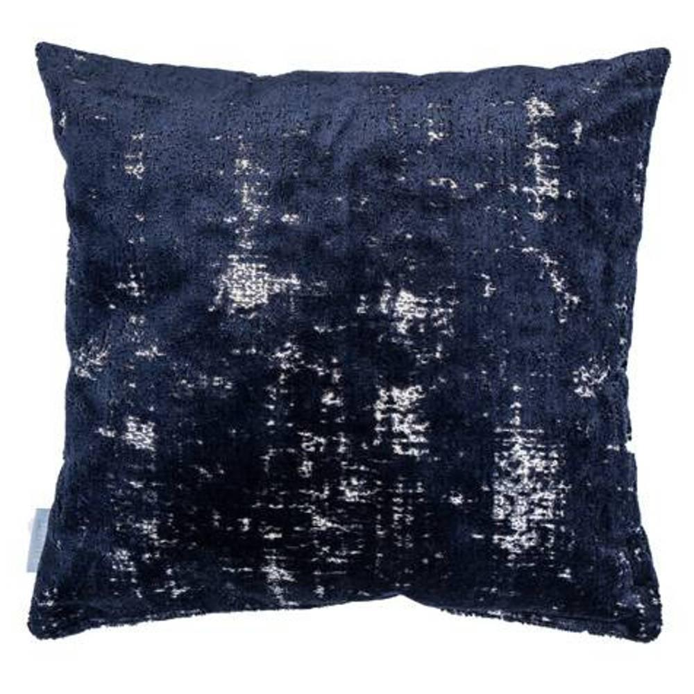 coussin design tendance au meilleur prix coussin zuiver sarona bleu nuit inside75. Black Bedroom Furniture Sets. Home Design Ideas