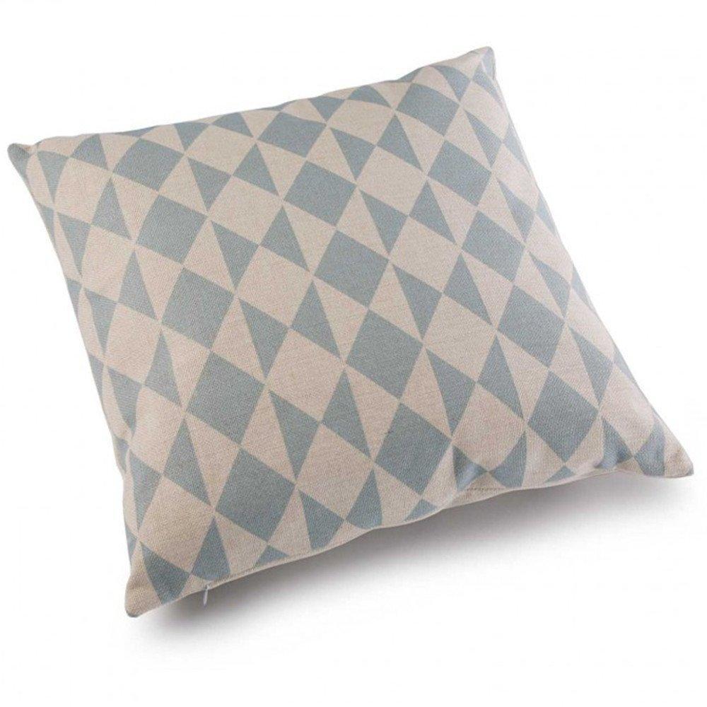 chaises meubles et rangements coussin zig design bleu ciel inside75. Black Bedroom Furniture Sets. Home Design Ideas