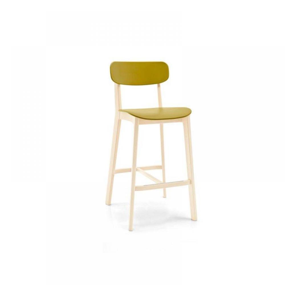 chaises meubles et rangements tabouret chaise de bar design calligaris cream en plastique. Black Bedroom Furniture Sets. Home Design Ideas