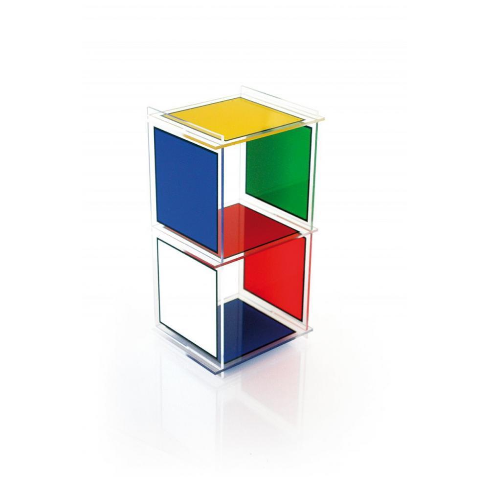 chaises meubles et rangements etag re colonne cube 2 plexiglass acrila design inside75. Black Bedroom Furniture Sets. Home Design Ideas