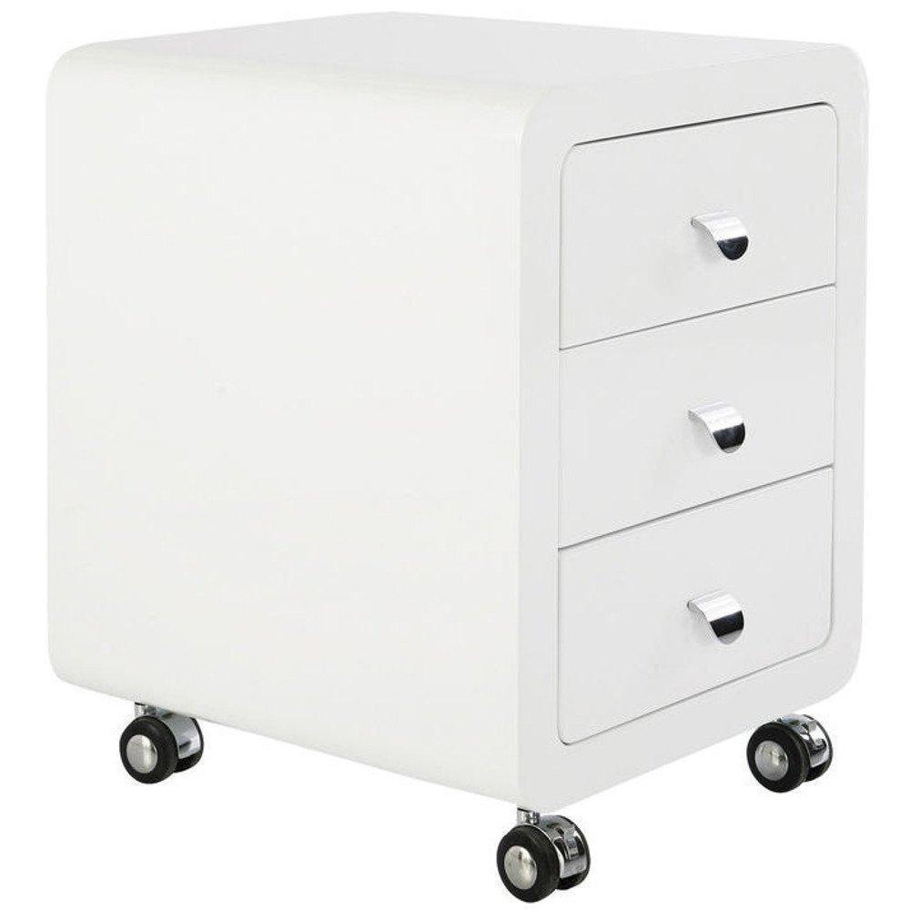 chevets meubles et rangements caisson sur roulettes club 3 tiroirs inside75. Black Bedroom Furniture Sets. Home Design Ideas