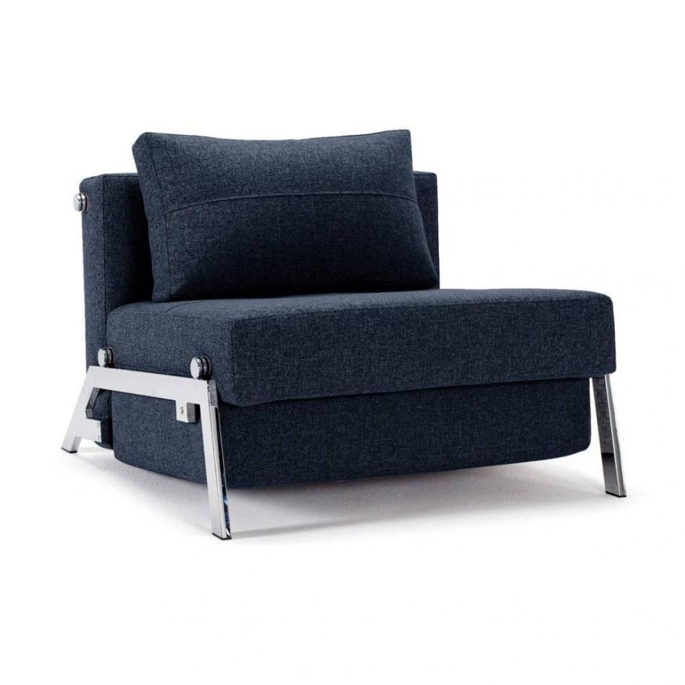 fauteuil convertible ultra pratique au meilleur prix fauteuil design sofabed cubed chrome mixed. Black Bedroom Furniture Sets. Home Design Ideas