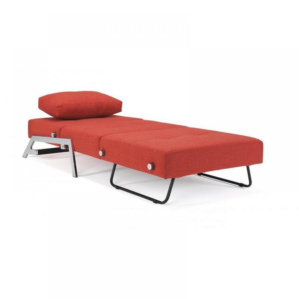 fauteuils convertibles convertibles innovation fauteuil lit design sofabed cubed rouge. Black Bedroom Furniture Sets. Home Design Ideas