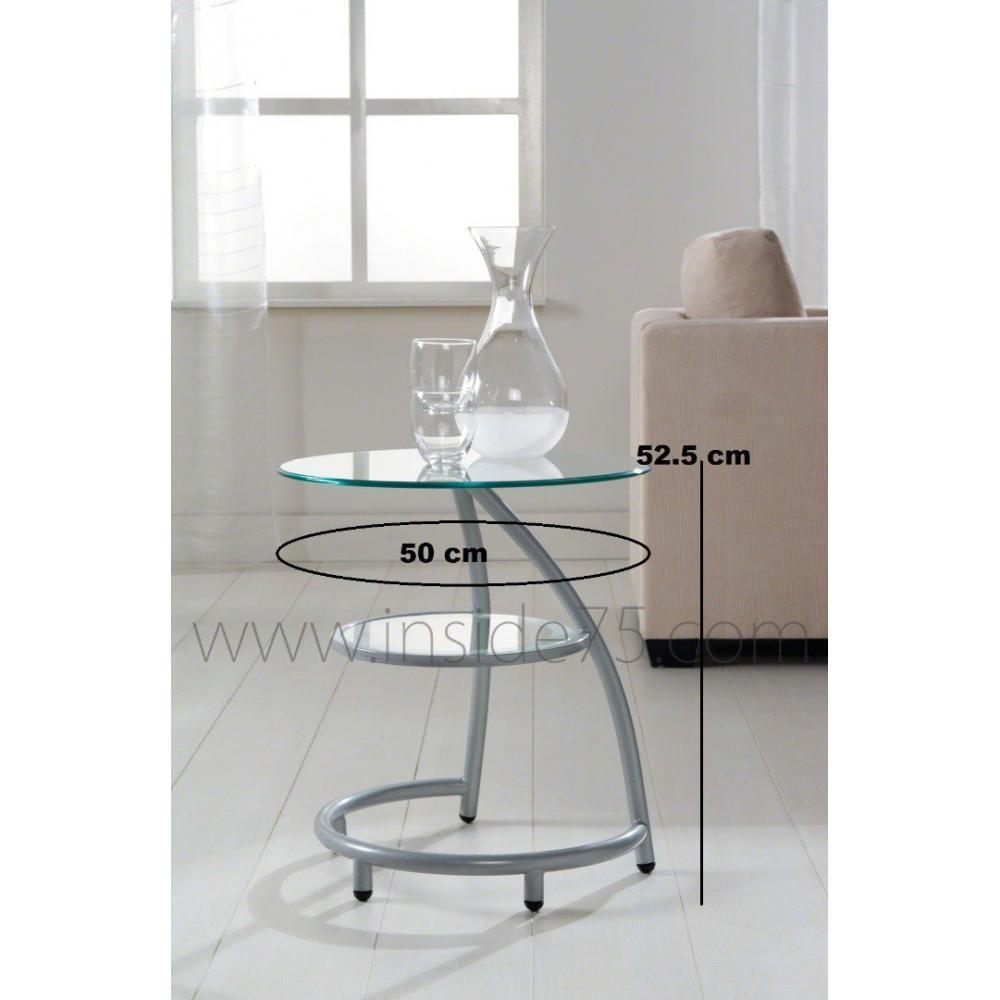 Bouts de canapes tables et chaises curves bout de canap - Bout de verre dans le pied ...