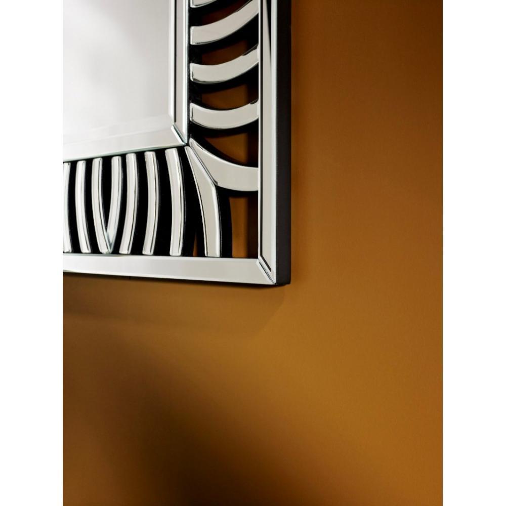 armoire lit escamotables au meilleur prix cusco miroir mural design zebre inside75. Black Bedroom Furniture Sets. Home Design Ideas