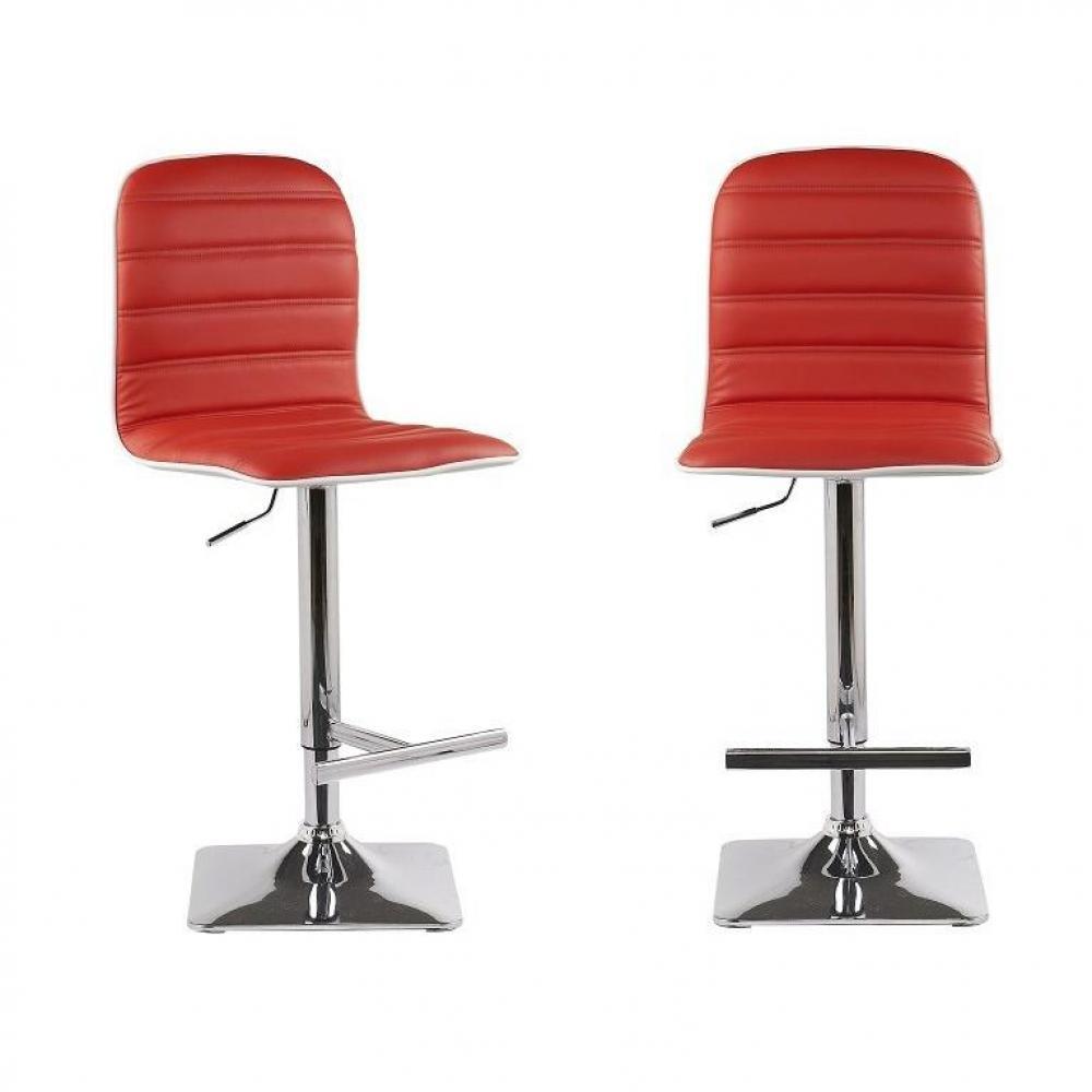 tabourets de bar meubles et rangements lot de 2 tabourets chaises de bar reglables dance. Black Bedroom Furniture Sets. Home Design Ideas