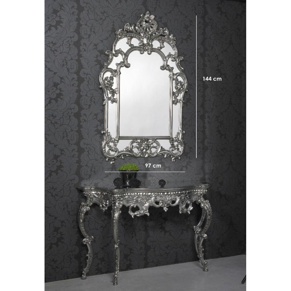 miroirs meubles et rangements daylight miroir mural design argent inside75. Black Bedroom Furniture Sets. Home Design Ideas