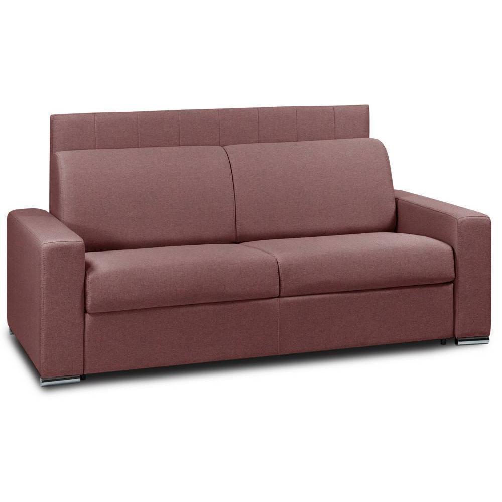 Canapé droit 3 places Tissu Design Confort
