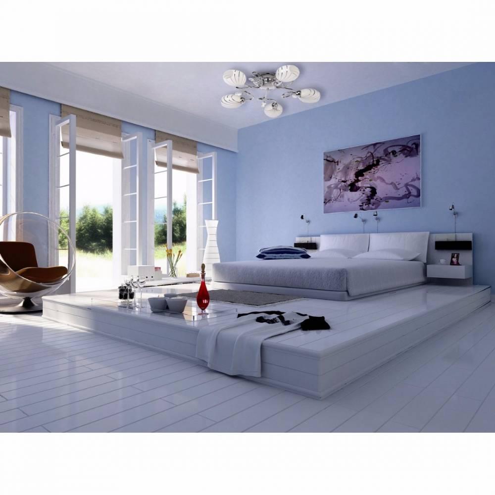 luminaires luminaires plafonnier demarkt megapolis design moderne 5 lumi res inside75. Black Bedroom Furniture Sets. Home Design Ideas