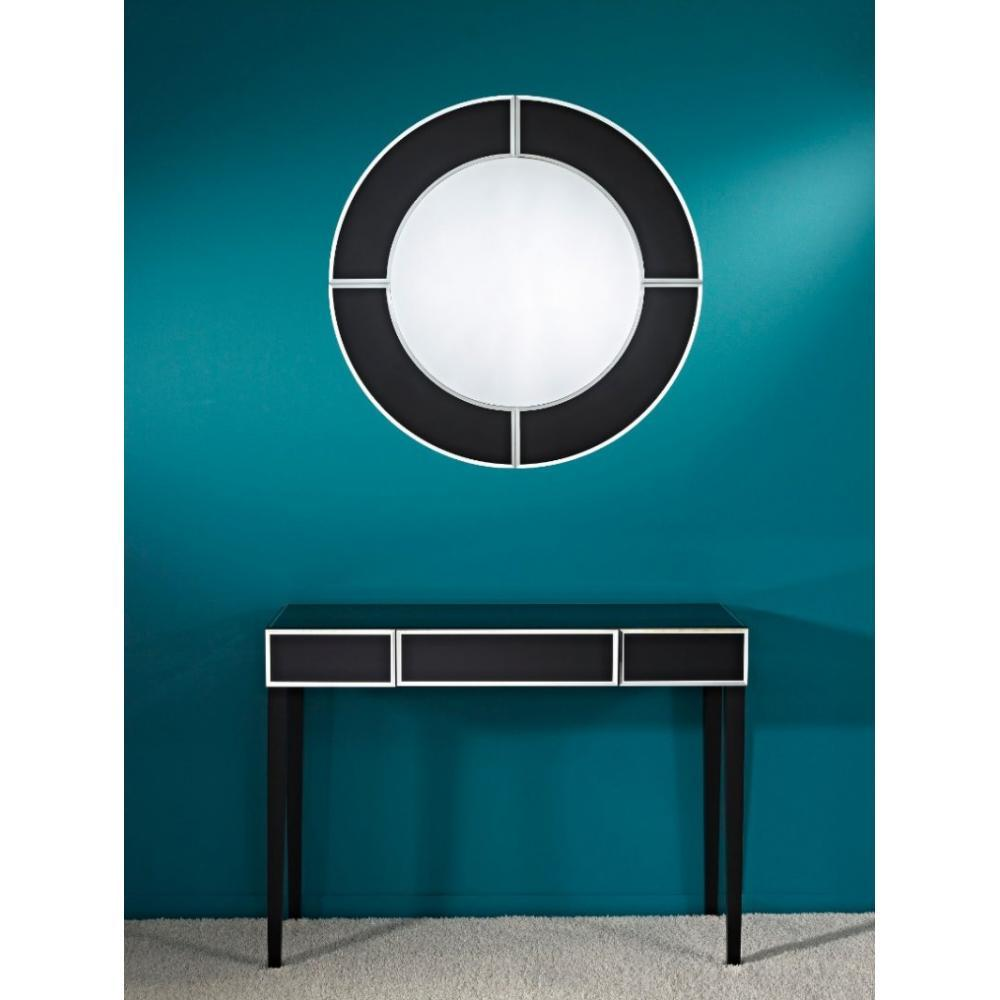 console design ultra tendance au meilleur prix diamant ensemble table avec tiroir et miroir. Black Bedroom Furniture Sets. Home Design Ideas