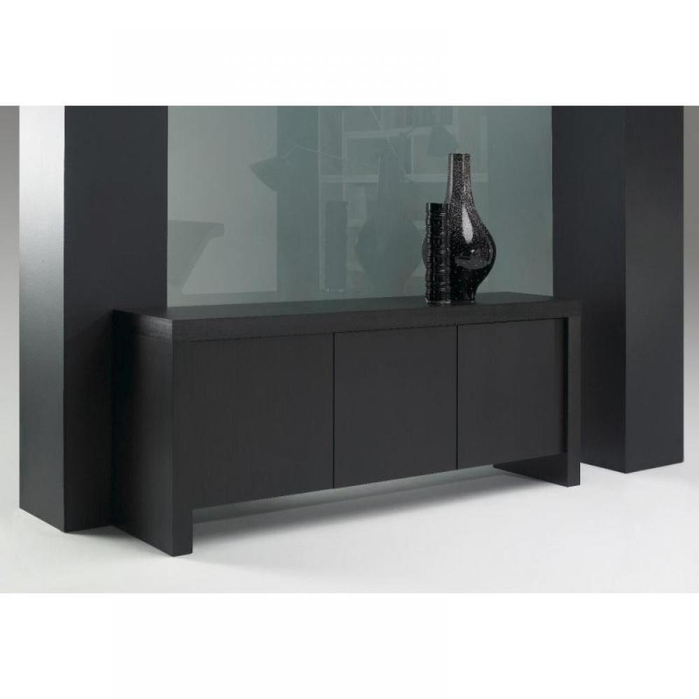 buffets meubles et rangements temahome kobe buffet design bois weng 3 portes inside75. Black Bedroom Furniture Sets. Home Design Ideas