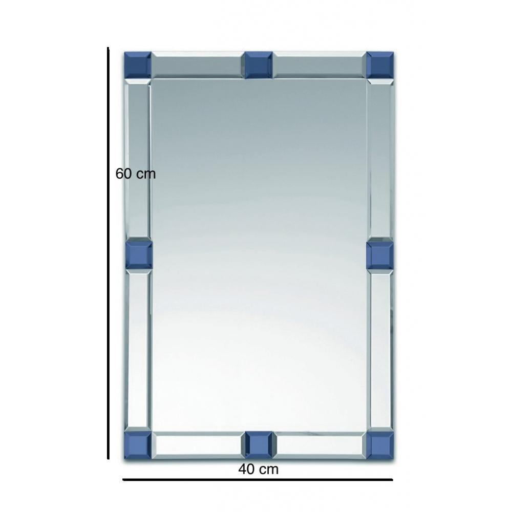 Miroirs meubles et rangements domino miroir mural design for Verre et miroir